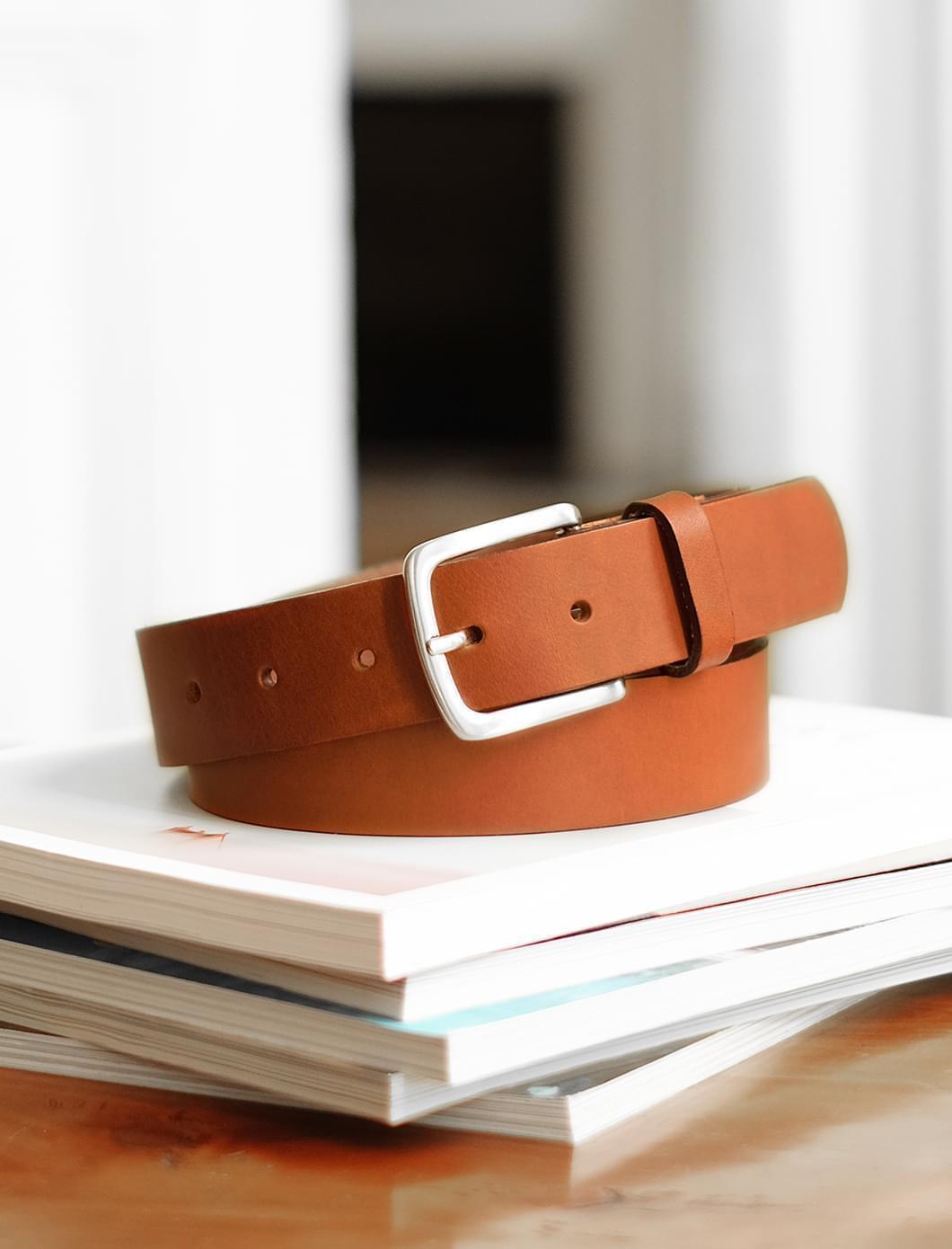Raw belt man - Cognac