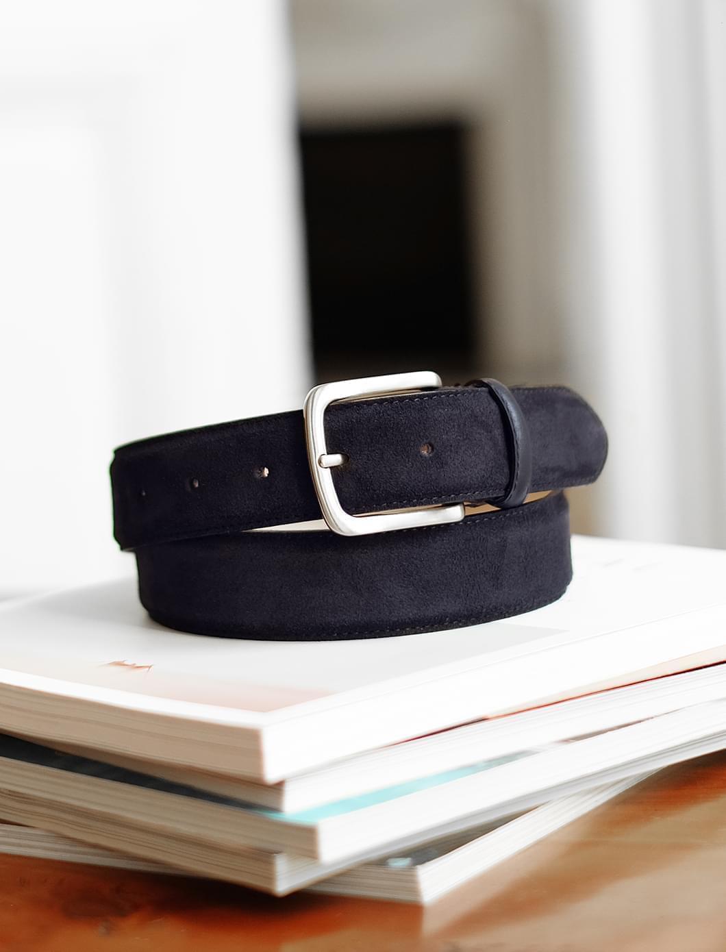 Classic belt man - Night blue