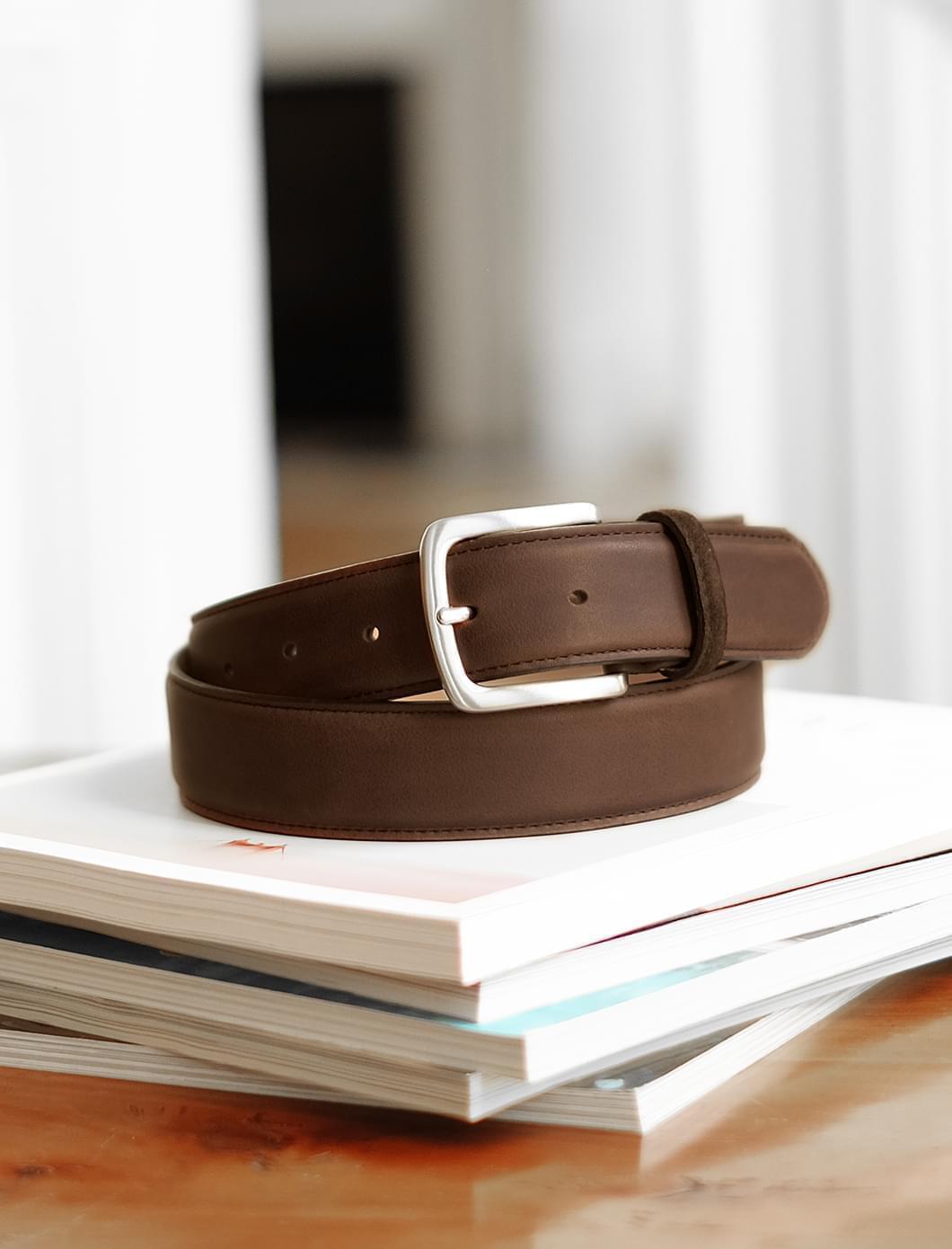 Classic belt man - Brown