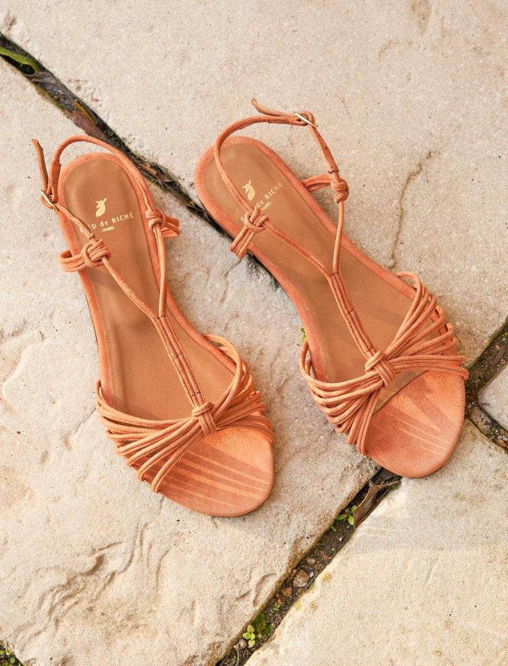 Inès Sandals - Papaya