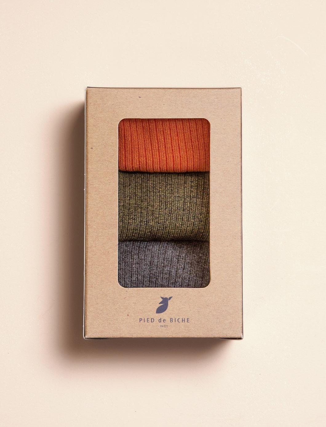 Ribbed Socks - Trio for Women