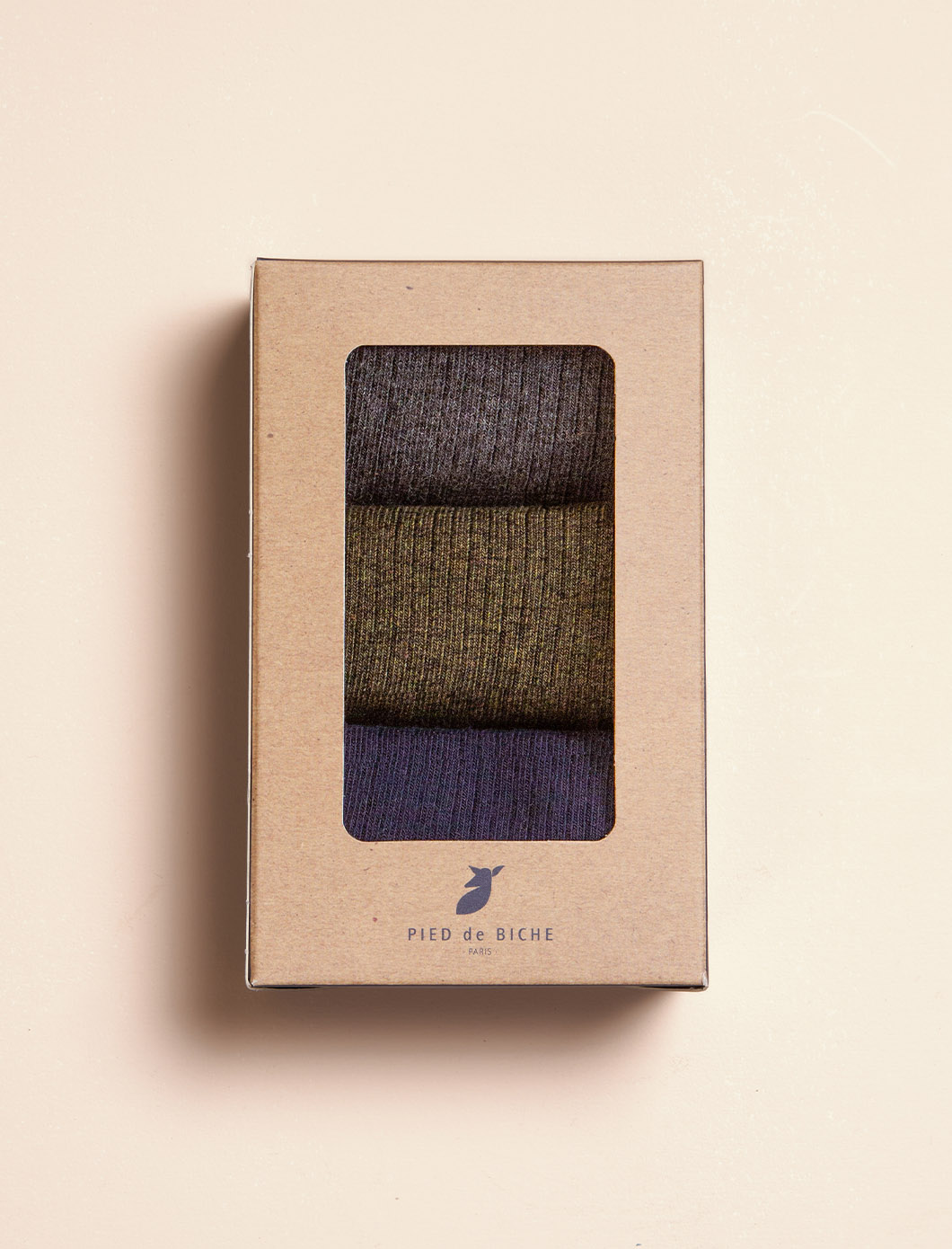 Ribbed Socks - Trio for Men