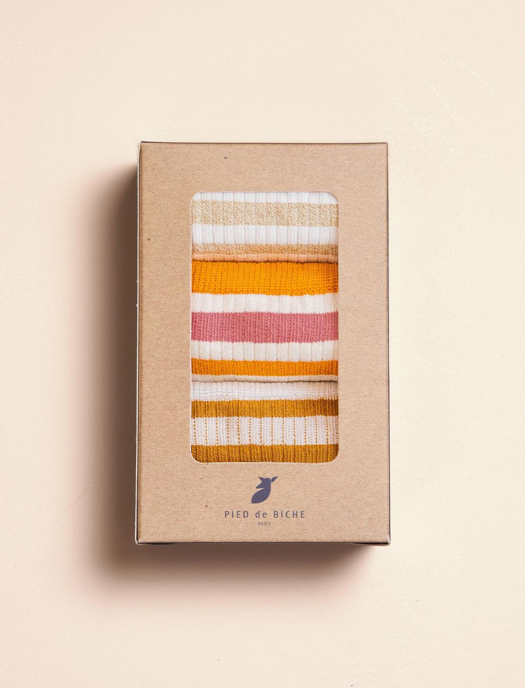 Women's Ribbed Sport Socks - Trio