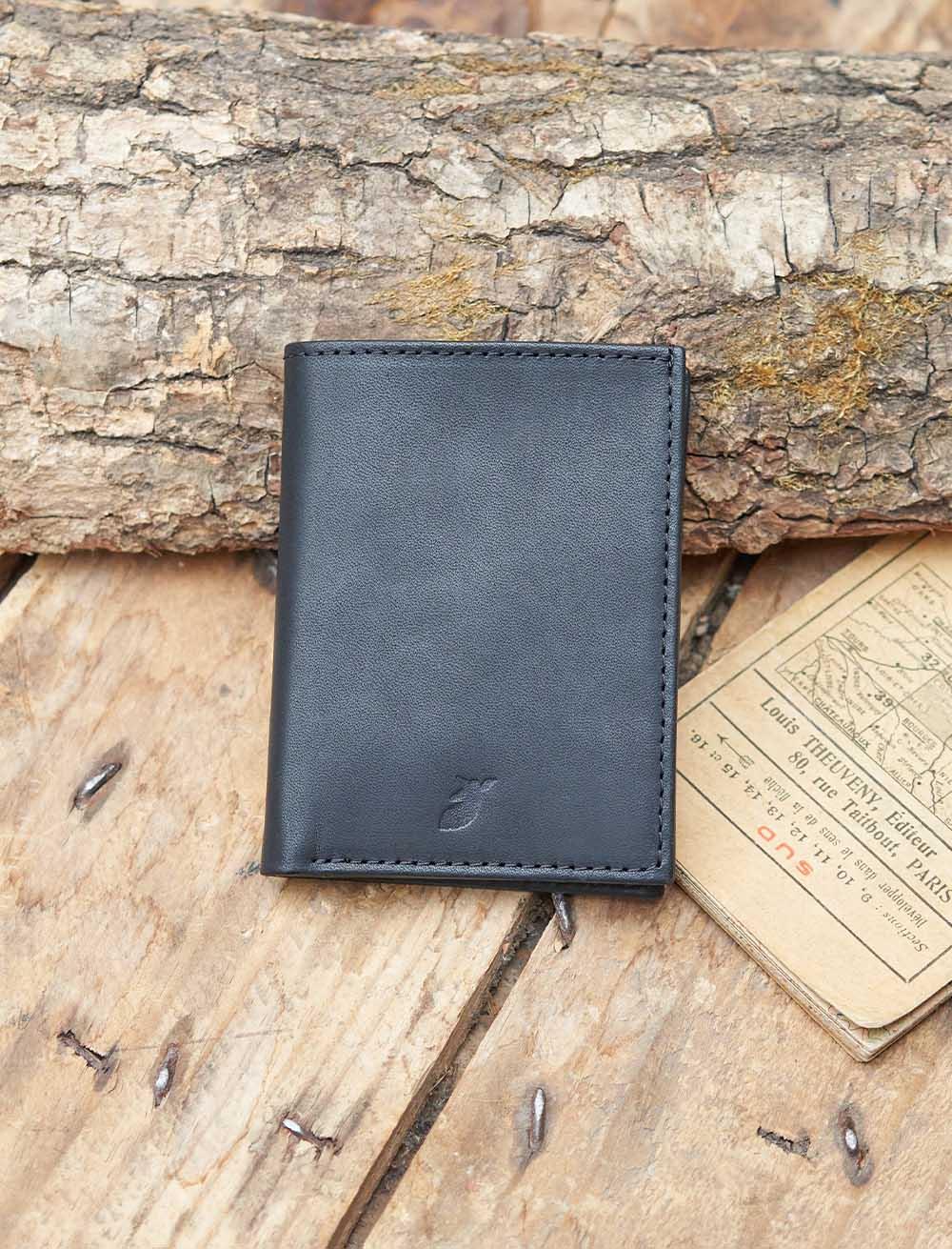 Black Booklet Card Holder