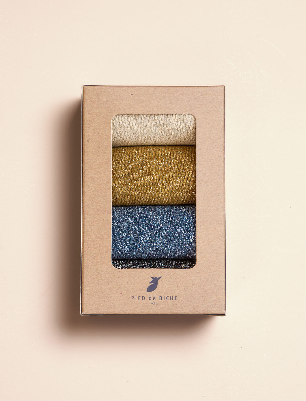 Sequined Socks - Quartet for women
