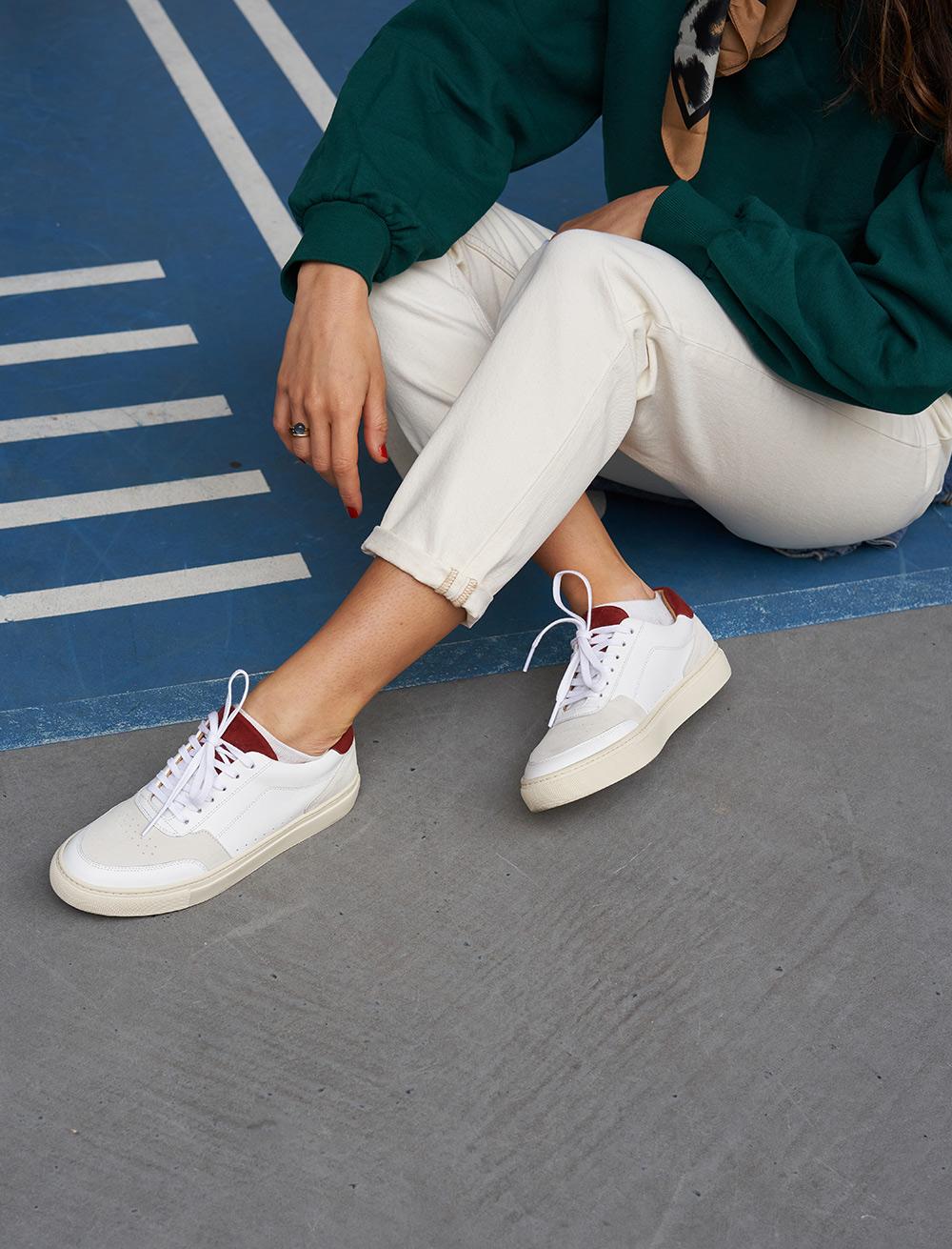 Frisco V3 - White, Rust