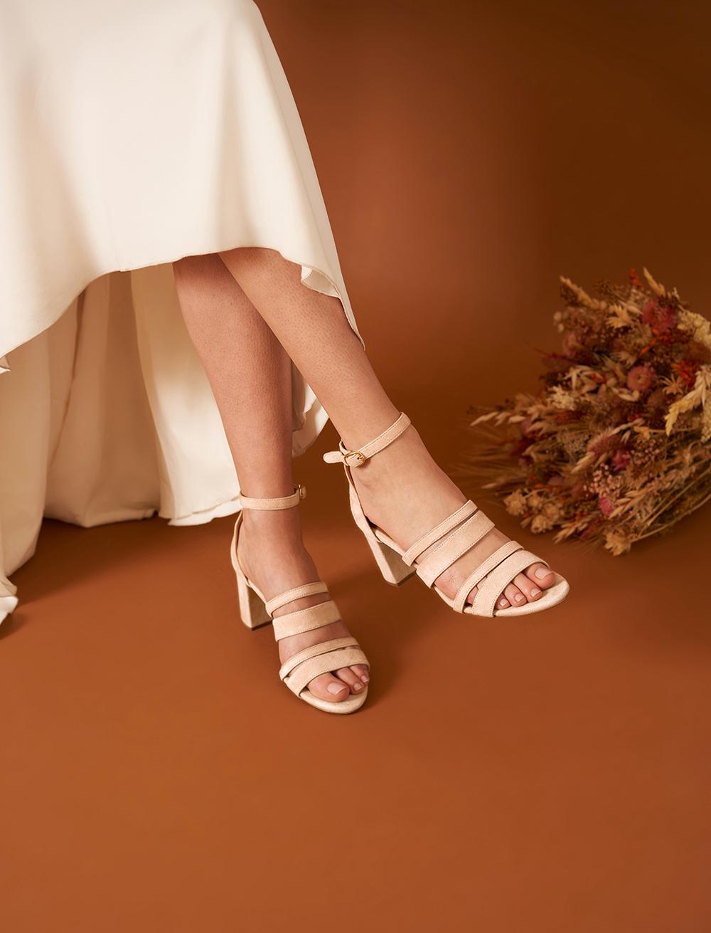Alizée Sandals - Powdered