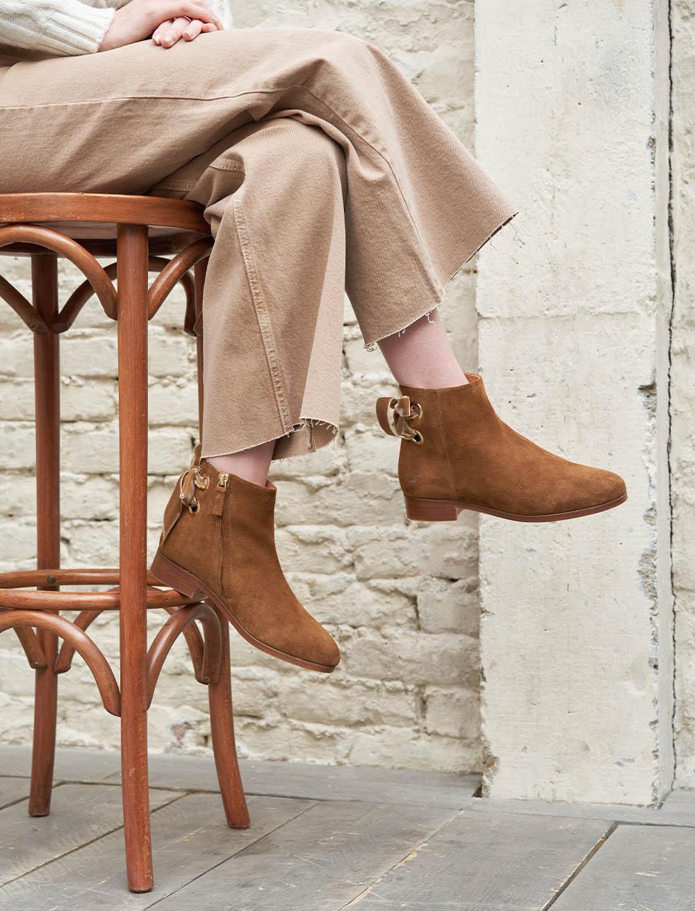 Emilia Boots - Nut