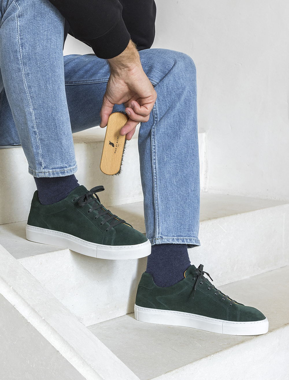 Sneakers Billy - Forest Green