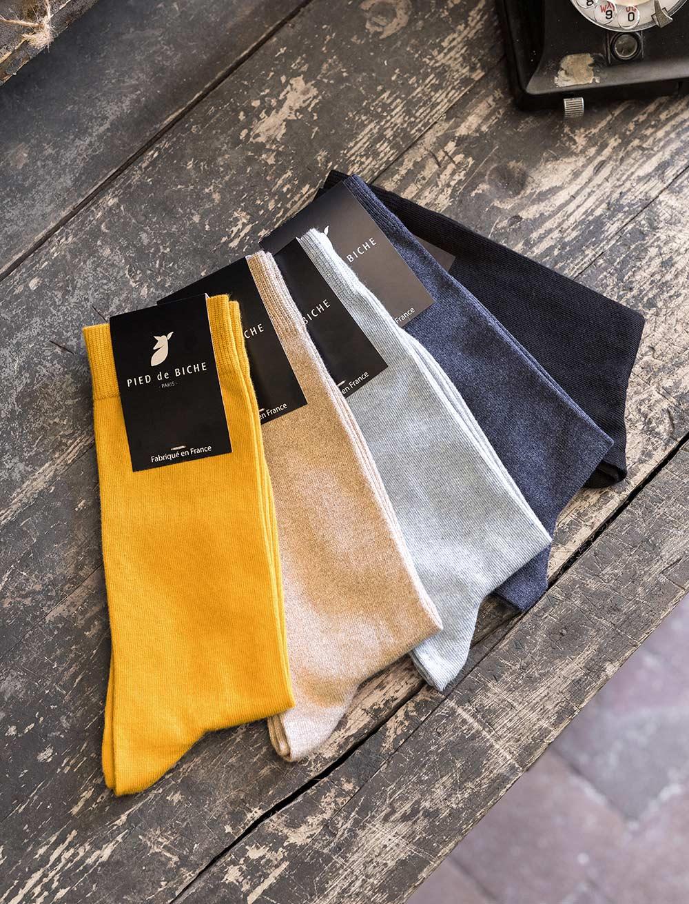 Socks - Polka dot quartet