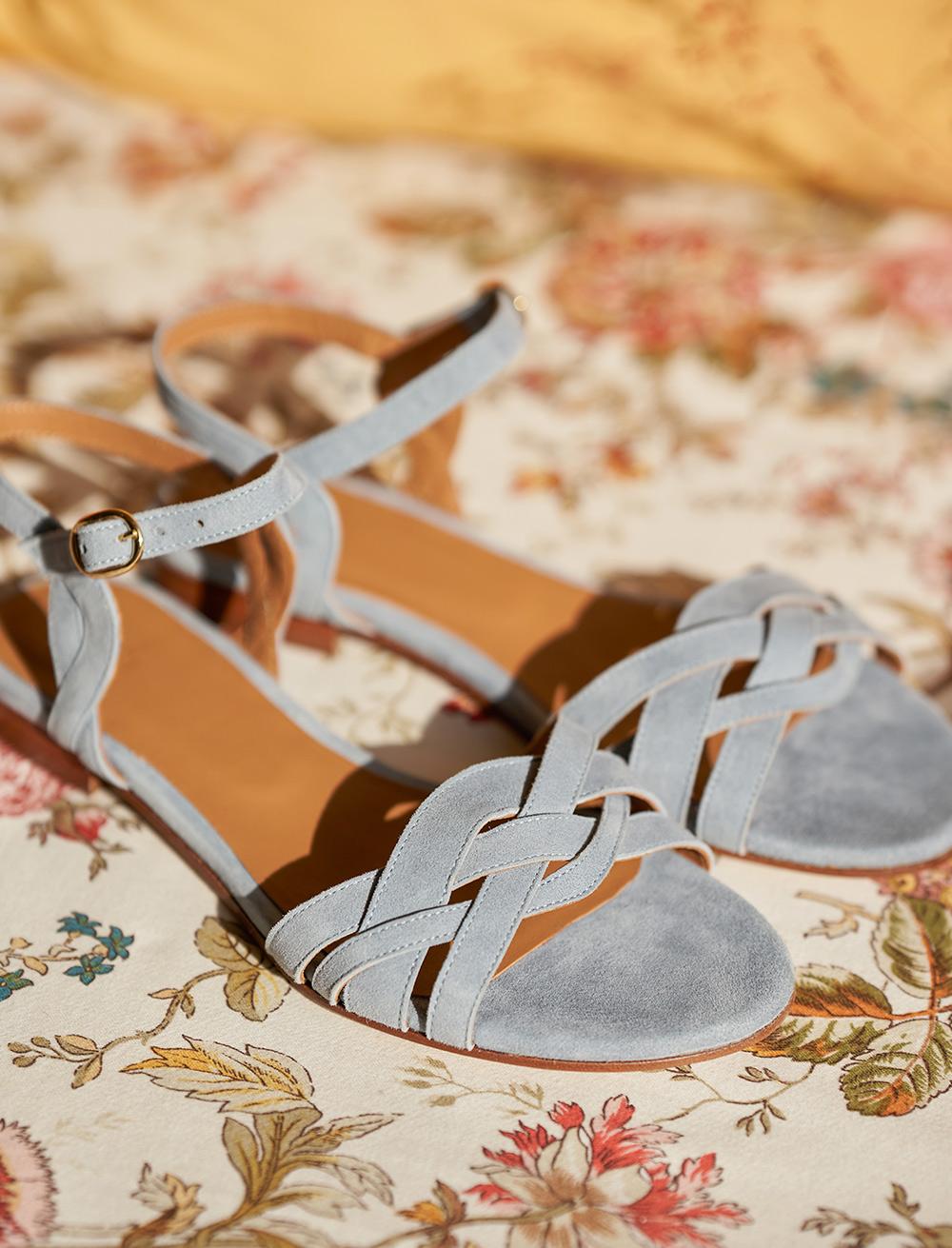 Enora Sandals - Pearl