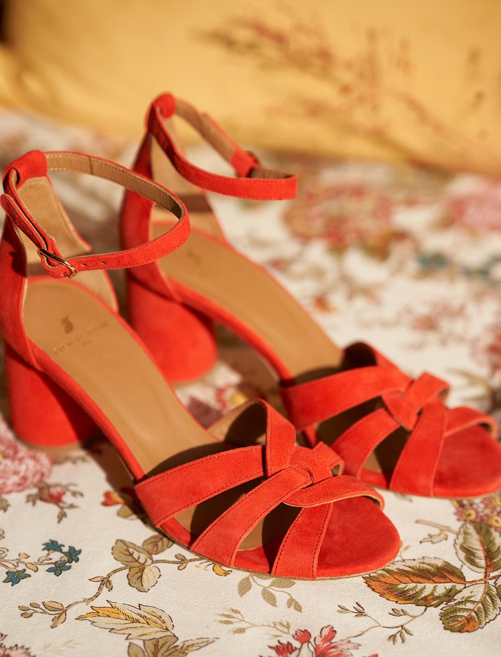 Laurène Sandals - Carmine
