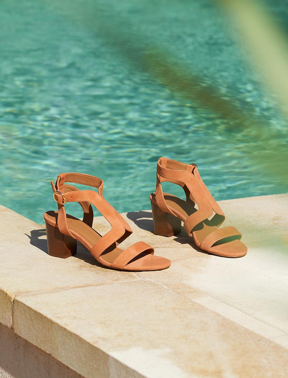 Roxane Sandals - Papaya