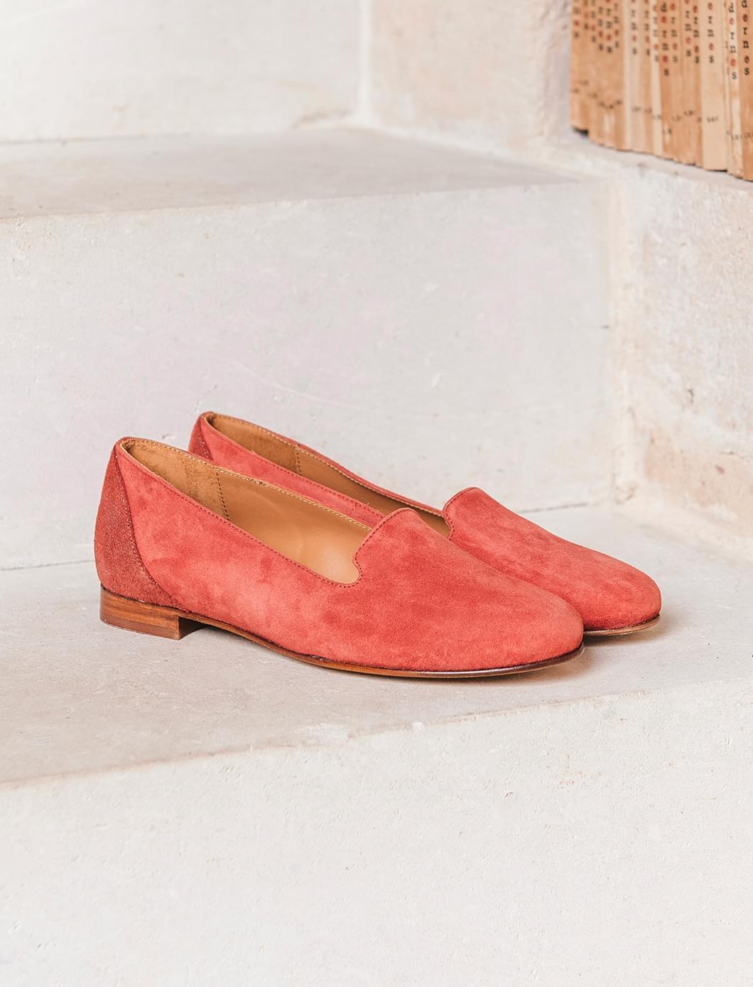 Slippers - Brick glitter