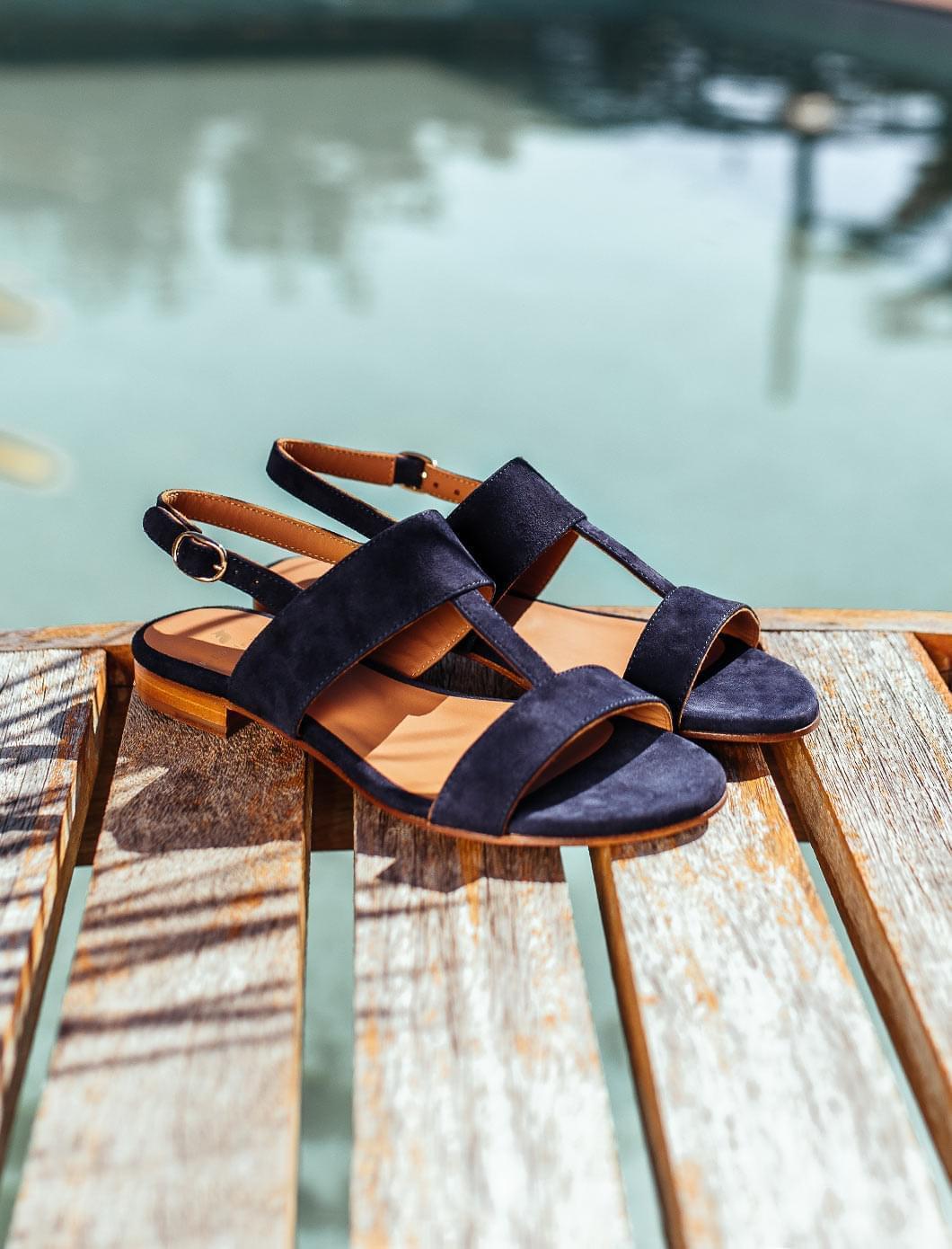 Eglea Sandals - Night Blue