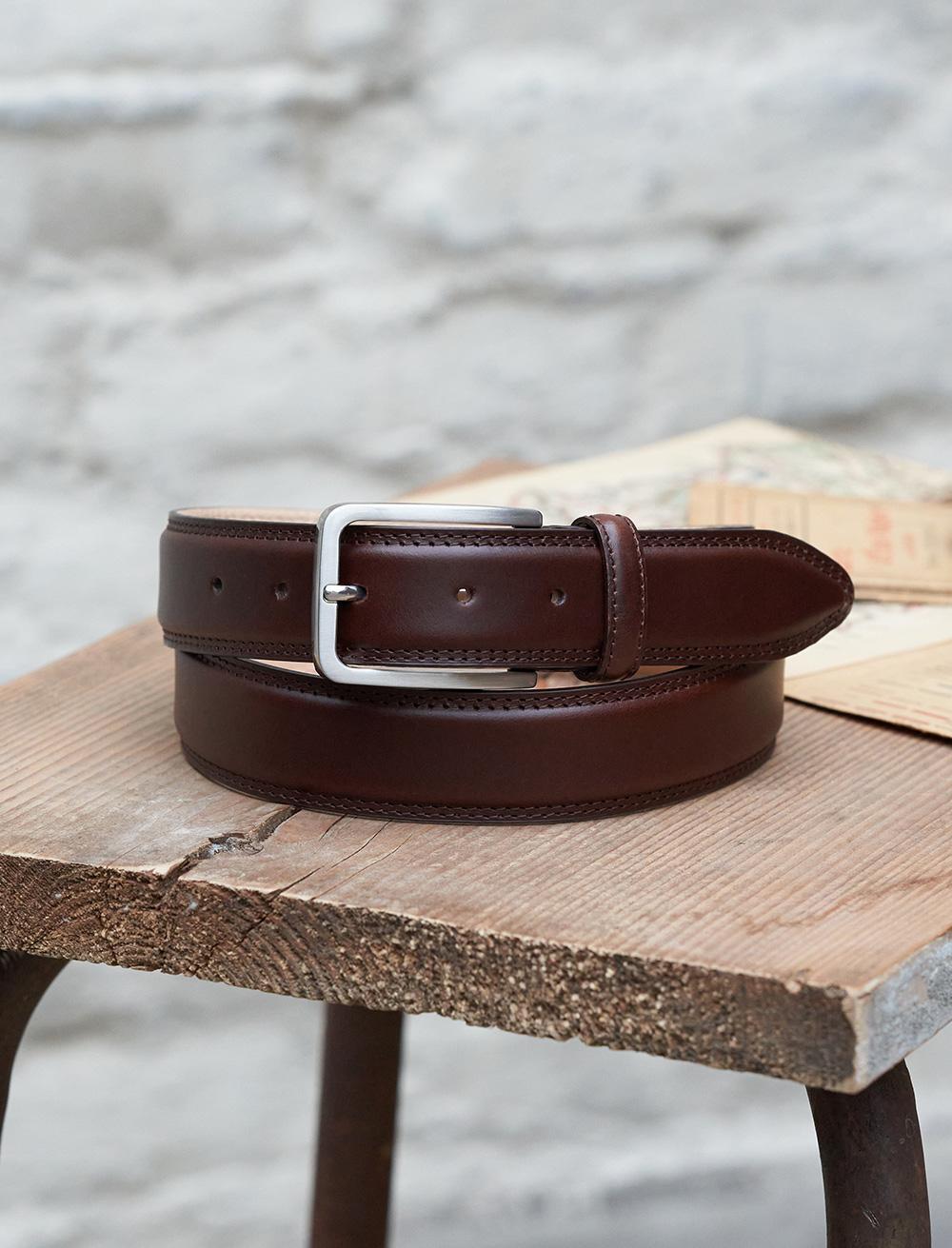 Classic belt man - Burgundy