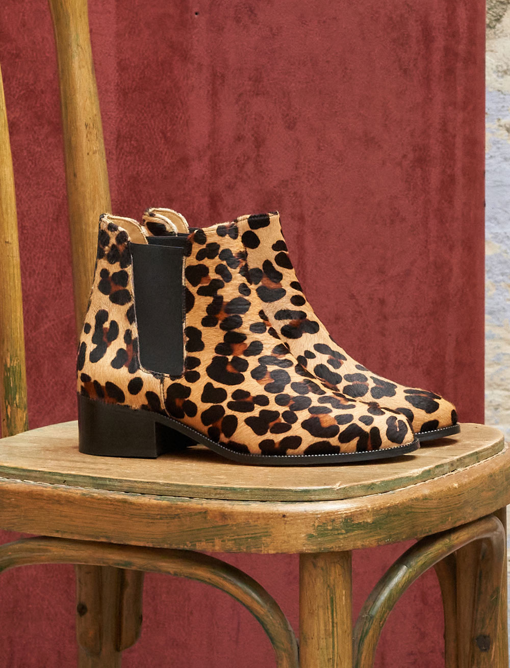 Chelsea boots Amy - Leopard