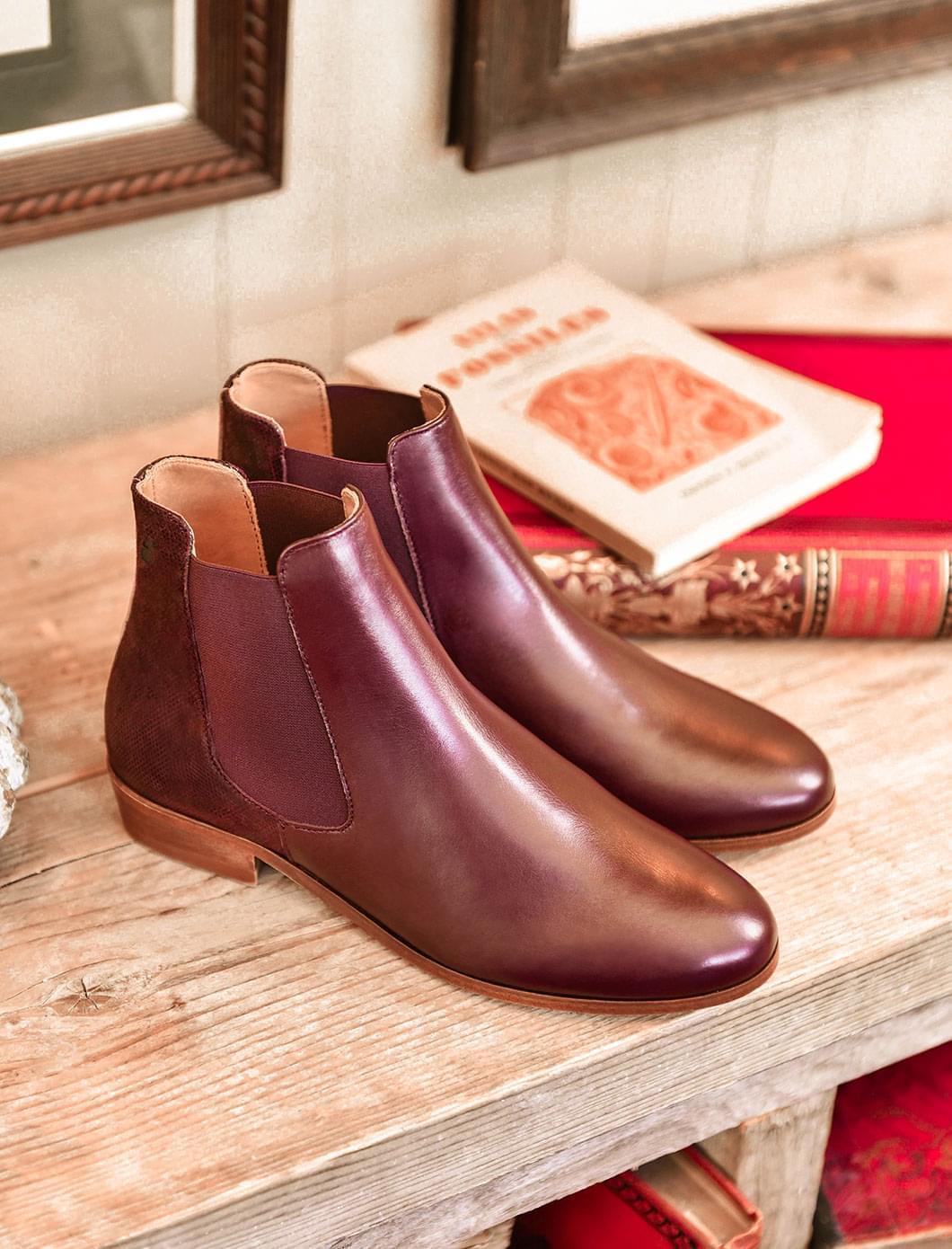 Chelsea boots - Burgundy