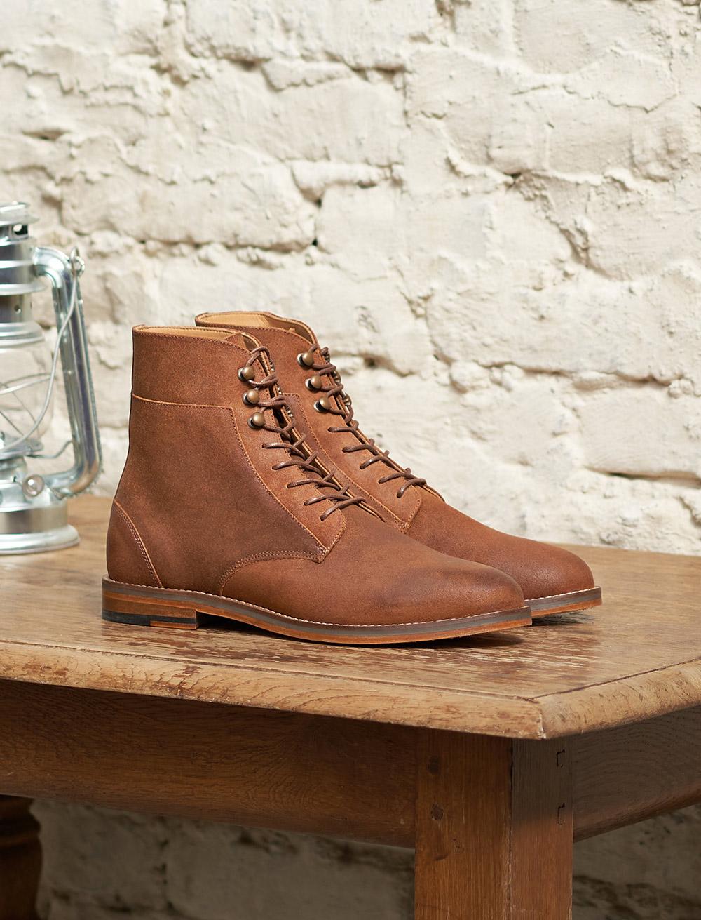 Combat boots Casual - Bark