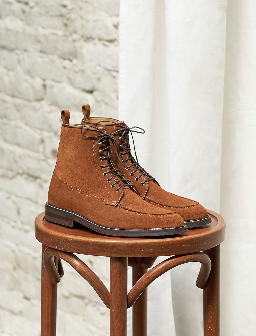 Classic Combat boots - Fawn