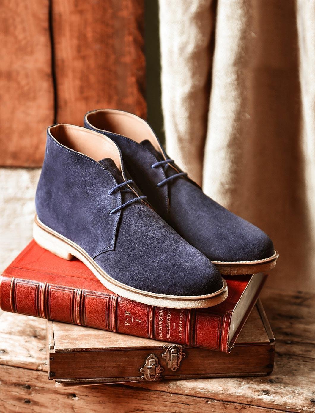 Desert Boots - Blue