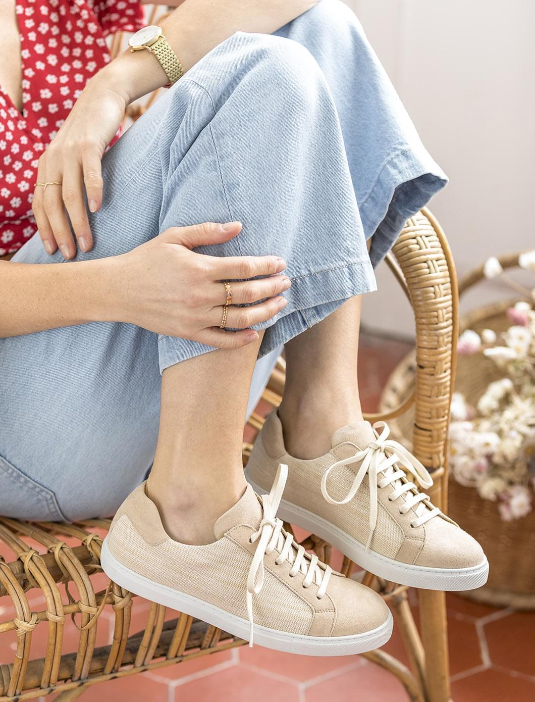 Sneakers Olivia - Sand